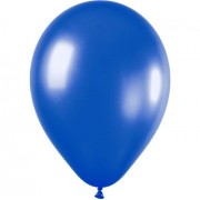Metallic Blue Balloons (Pack of 20)