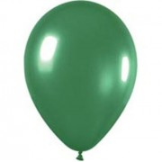 Metallic Green Balloons (Pack of 20)