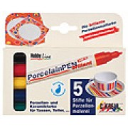 Porcelain Markers 5s Assorted