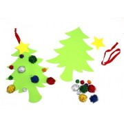 Christmas PomPom Tree Kit 10s