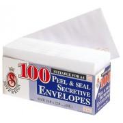 Envelopes DL Secret Peel/seal (Pack of 100)