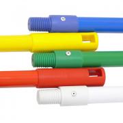 Broom or Mop Stick - Powdercoated Metal - Blue