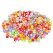 Alphabet Cube Beads 100g