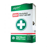 Workplace Wallmountable Metal Case First Aid Kit