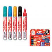 Fabric Markers - Glitter 5's