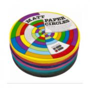 Kinder Paper Circles Matt 120mm (Pack of 500)