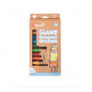 Micador jR Giant Crayons Octagonal (Pack of 12)