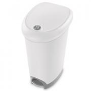Pedal Bin 48L Sterilite Commercial White