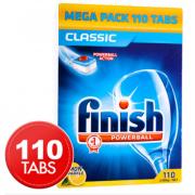 Finish Classic Lemon Sparkle (Pack of 110)