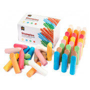Chalk Stumpies Coloured (Pack of 40)